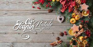 Locandina Pranzo di Natale 2019 a Ca Scapin Verona