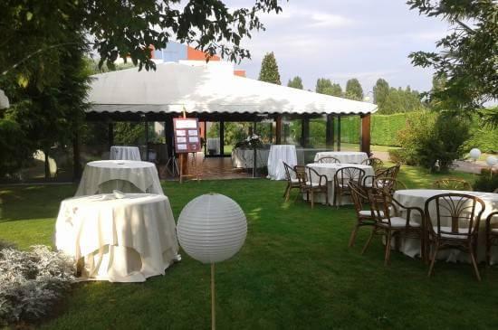 Gazebo giardino - Ca Scapin - Il ristorante per gli eventi a Verona