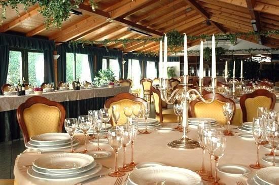 Sala chalet - Ca Scapin - Il ristorante per gli eventi a Verona