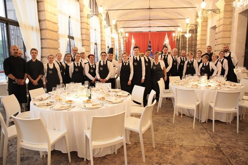 Gala banqueting in Verona - Scapin
