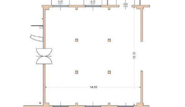 Sala delle colonne - Ca Scapin - Il ristorante per gli eventi a Verona